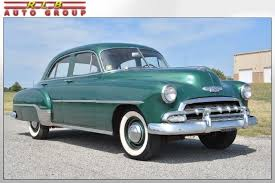 sedan 4 door 1952 chevrolet deluxe 4 door sedan 30 000 original one