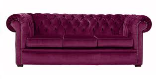 Purple Velvet Chesterfield Sofa Handcrafted In The UK - Chesterfield sofa uk
