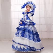 Halloween Costumes Southern Belle Discount Belle Halloween Costume Blue Dress 2017 Belle Halloween