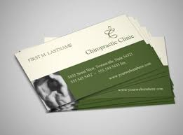 Massage Therapy Business Cards Chiropractic Care And Massage Business Card Template
