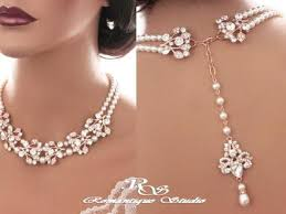 wedding backdrop necklace jewellery designs 5 rows pearl necklace 25 grams pearl and