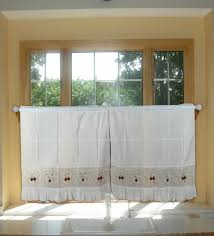 aliexpress com buy strawberry embroidery curtains valance swag