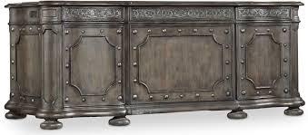 Vintage Desks For Home Office by Hooker Furniture Home Office Vintage West Executive Desk 5700 10563