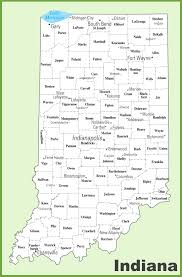 County Maps Of Ohio by County Map Of Indiana World Map