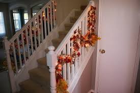 Banister Decorations 50 Unique Fall Staircase Decor Ideas Family Holiday Net Guide To