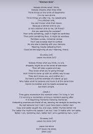 kitchen sink lyrics kitchen sink lyrics i love these lyrics twenty one pilotssss