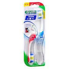 travel toothbrush images G u m folding travel toothbrush soft assorted walgreens jpg