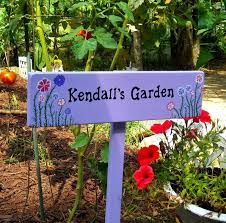 Personalized Garden Decor 27 Best Signs Personalized Custom Signs From My Etsy Shop Yard