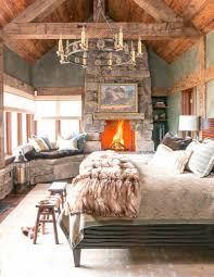 20 heartwarming bedroom ideas with fireplace rilane