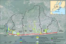 Staten Island Map New Hurricane Plan For The East Shore Calls For Levee Across Hylan