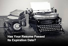 Make Your Resume Seven Mistakes That Make Your Resume Look Old