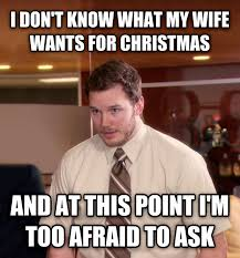 Anti Christmas Meme - livememe com at this point i m too afraid to ask andy