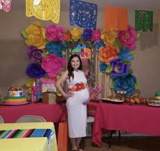 mexican baby shower mexican maternity sash multicolored baby shower sash
