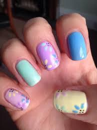 bluesky shellac spring nails pastel colours nails pinterest