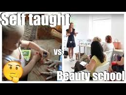 Nail Tech Meme - self taught nail technician vs beauty school is it possible to