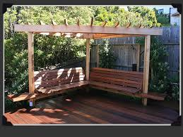seating shade structure idea for the back corner from paxton gate