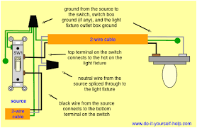 electrical helper wiring a 1 way light switch exceptional diagram