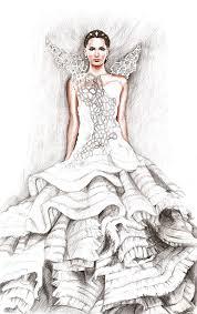 katniss everdeen wedding dress costume catching katniss everdeen by hobby tribut on deviantart