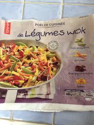 cuisine wok facile legume wok thiriet 600 gr