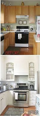 kitchen makeover ideas pictures 25 before and after budget kitchen makeover ideas and