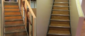 Laminate Floor Stair Nose Dc Power Basement Flooring