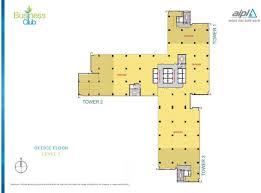 Company Floor Plan by Floor Plans U0026 Layout Aipl Business Club Gurgaon