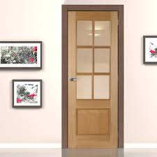 White 2 Panel Interior Doors by Iris 6 Light White Oak Fire Door With Clear Safety Glass Is 1 2