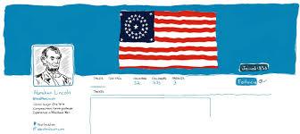 Us Flag 1860 Wwlt What Would Lincoln Tweet U2013 Populiteracy U2013 Medium