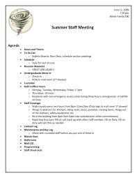Samples Of Agenda For Meetings Template by Sample Staff Meeting Agenda Template 1 Professional Templates