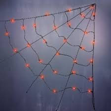 halloween indoor decorations outdoor 3 ul corner orange spider web