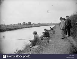 anglers on the river ancholme north lincolnshire 1901 artist
