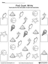 free worksheets printable counting worksheets free math