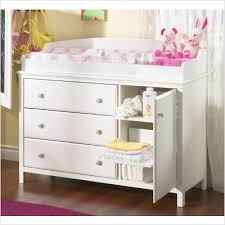 White Baby Changing Table Transitional Style White Finish Changing Table Best Cribs