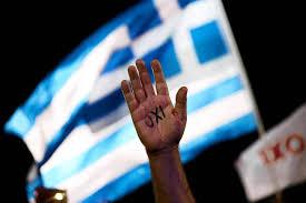 Greek Flag Background The Greek Crisis August 2015