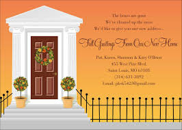 Invitation Card For Grand Opening Simple Black Letterings Color With Best Autumn Recipes Should
