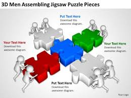 Jigsaw Puzzle Template Powerpoint Powerpoint Template Diagram Puzzle Powerpoint Template Free