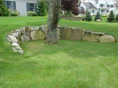 undulating retaining wall gardens permaculture pinterest