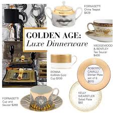 golden age luxe china dinnerware polyvore
