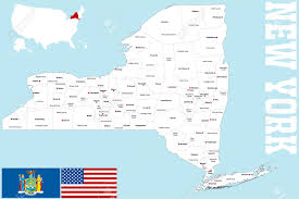 New York Counties Map Ny Counties Map Nystate Map New York County Map This Map Shows