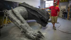 how to build a life size dragon tested