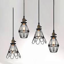 Cable Pendant Lighting Vintage Light E Pendentes Luzes Lustre Sala De Jantar Bar Abat
