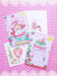 vintage strawberry shortcake 1st birthday party minted and