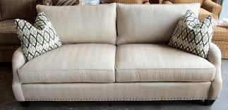 king hickory leather sofa barnett furniture king hickorysanta cruz