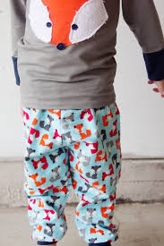pattern pajama pants fox pjs boys pajama pants pattern applique see kate sew