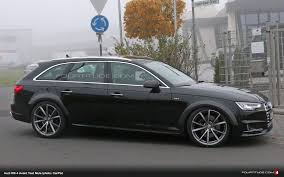 audi rs wagon breaking audi rs 4 avant b9 spied near nurburgring this morning