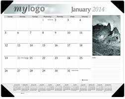 quickprint printing company desk pad calendars