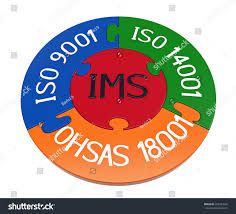 integrated management system combination iso 9001 stock