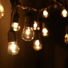 24 sockets 50ft outdoor light string torchstar