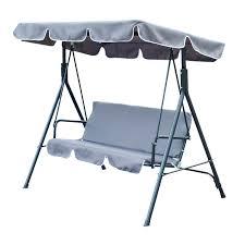 belham living adley outdoor metal rocking chair set with side