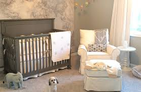 Baby Nursery Decoration by Color Coup In The Baby Nursery Neutrals Nudge Out Pastel Pink